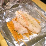 orange roughy fish linguine pasta healthy diet recipe