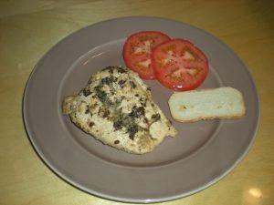 HCG Pesto Chicken Recipe