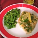 Lemon Dill Halibut Recipe