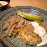 Baked Fish 'n' Chips with Homemade Tartar Sauce