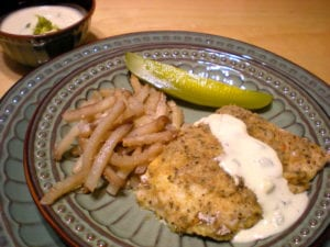 Baked Fish n' Chips