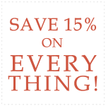 Save 15 percent on any of our online diet food!