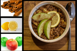 Delicious Healthy Apple Crisp