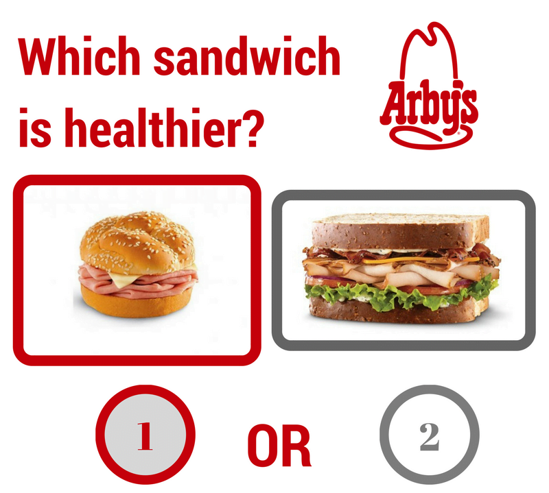 Which Arby's Sandwich is Healthier