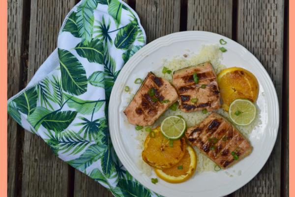 Low Carb Citrus Salmon