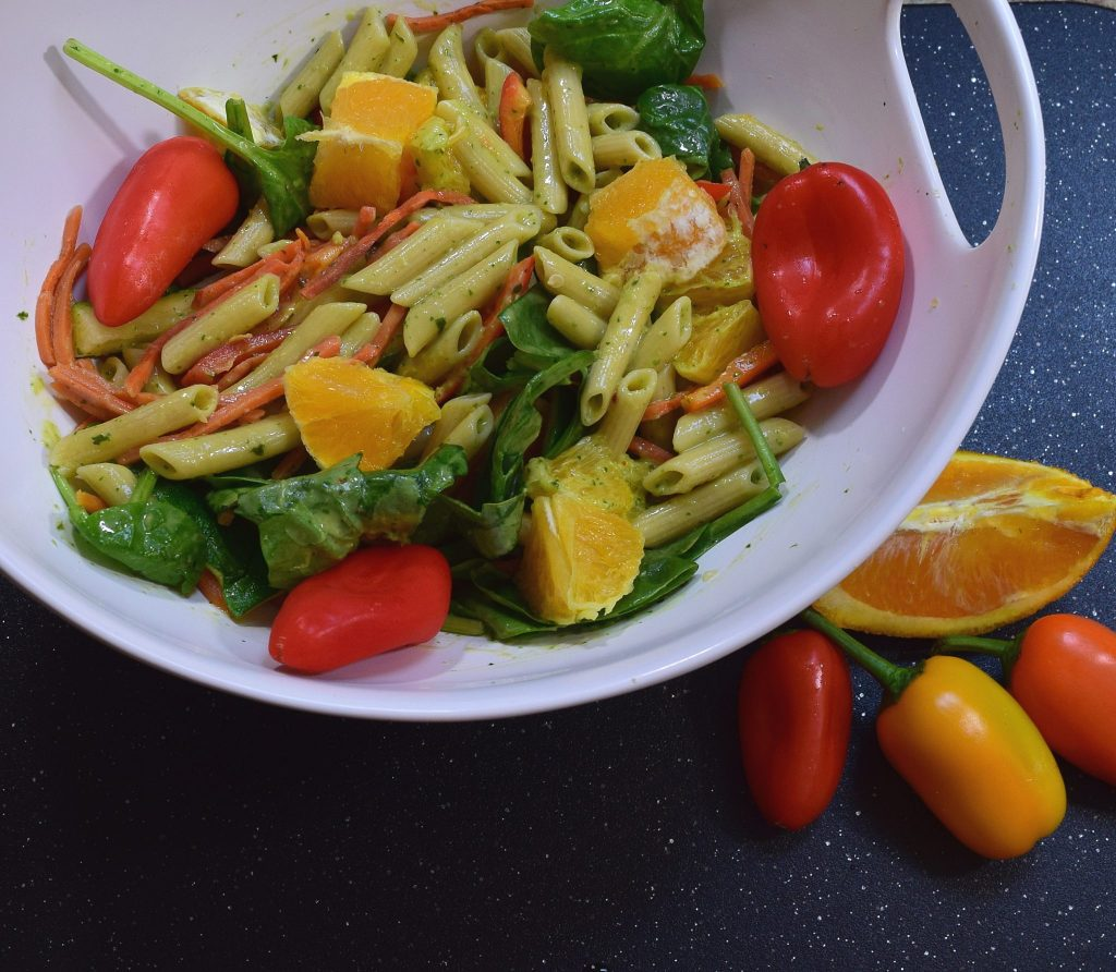 Weight Loss Friendly Garden Pasta