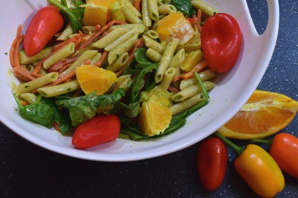 Weight Loss Friendly Garden Pasta