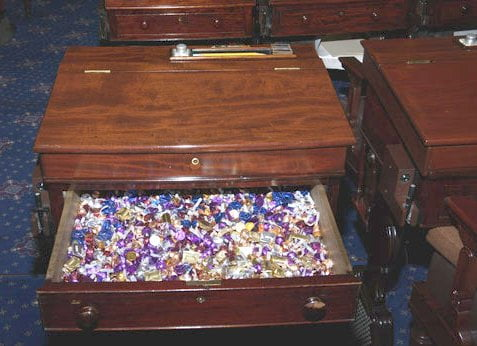 Candy desk