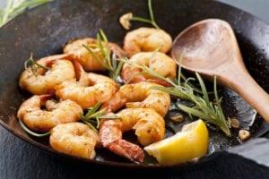Keto Friendly Shrimp Scampi