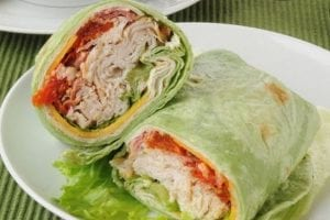 Deli Turkey Lettuce Wrap